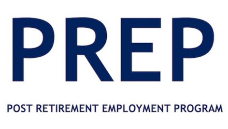 Post Retirement Employment Program (PREP) Logo